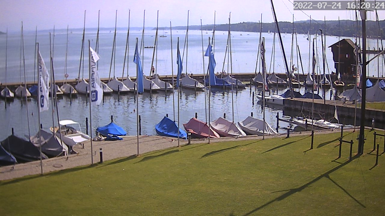 Webcam Bayerischer Yacht-Club
