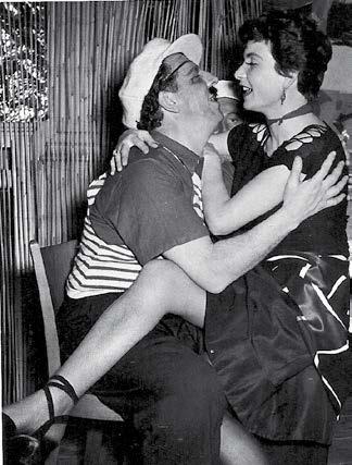 Rauschende Feste im BYC in der Nachkriegszeit