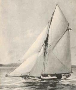1891 ließ sich Kustermann die 13,2 Meter lange EOS bauen.
