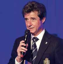 Glücklich über Wetter, Stimmung und einfach alles: BYC-Präsident Dr. Jean-Laurent Risterucci am Festabend.