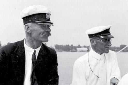Vize-Kommodore und KBYC-Präsident in einem Boot: S.K.H. Prinz Franz (links) und Hugo Kustermann. Foto: Archiv Prinz Ludwig
