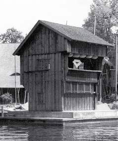 1925 errichtete der KBYC das Starthaus nach Plänen von Hugo Kustermann