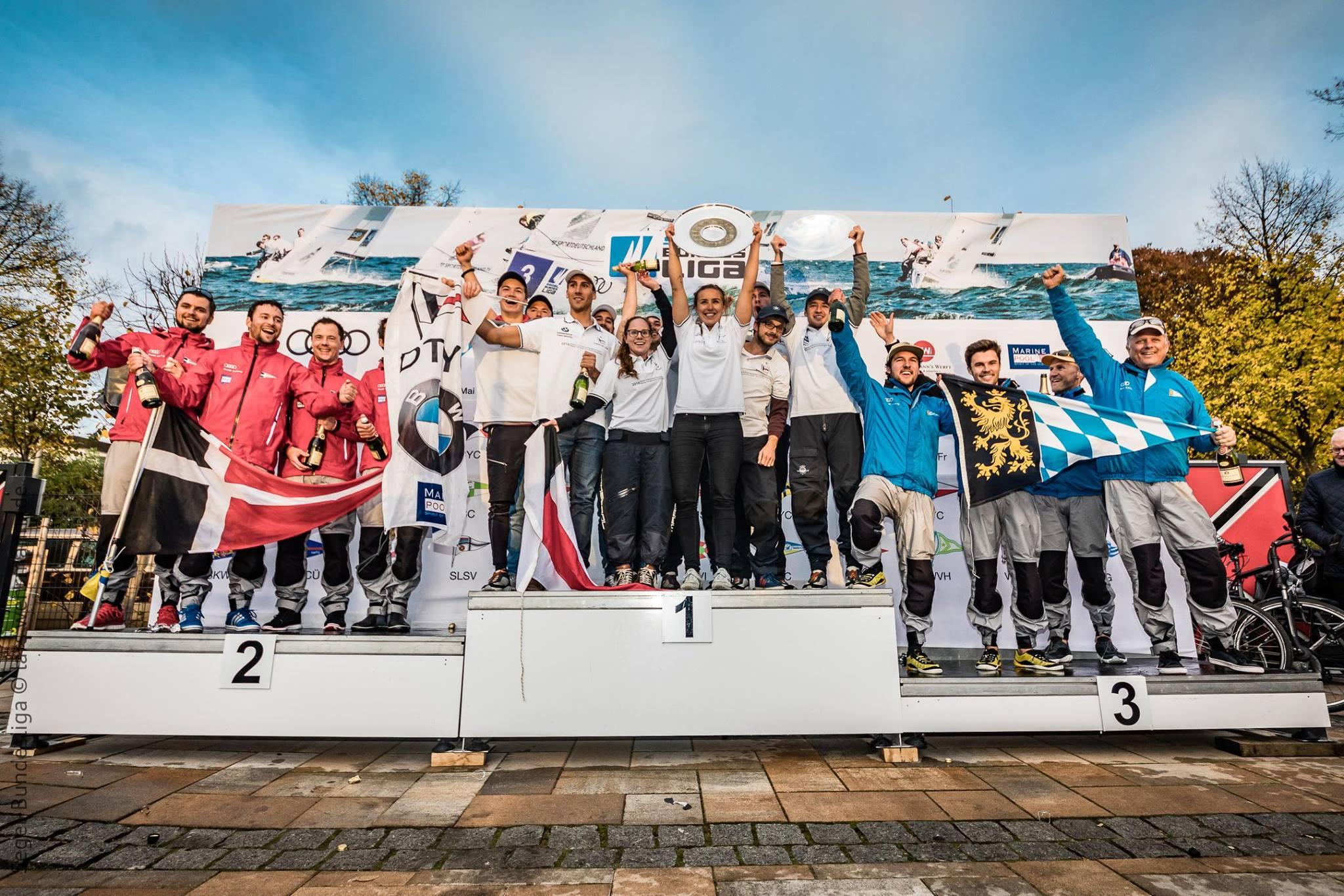 Team BYC: Philipp Hibler, Andi Plettner, Andi Achterberg, Maxi Hibler