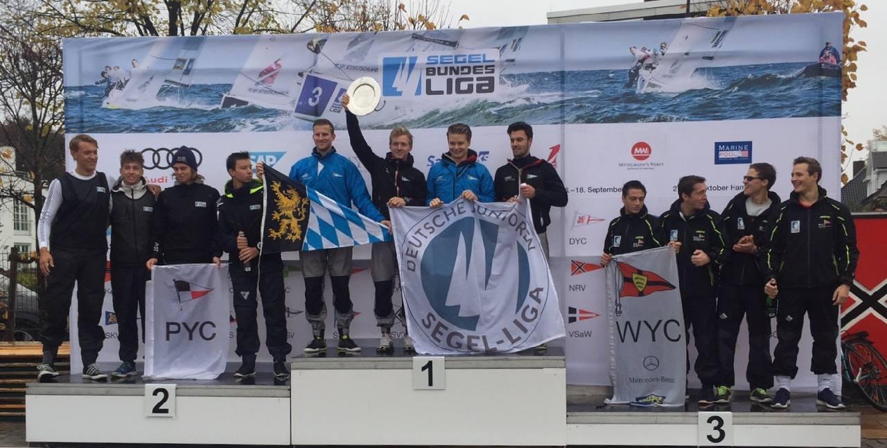 Team BYC: Maximilian Hibler, Jan Nürnberger, Poldi Lindner, Nick Beulke
