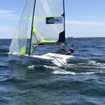 GER 22 im Training vor Kiel